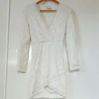 Lacey Long Sleeve Dress 6/XS