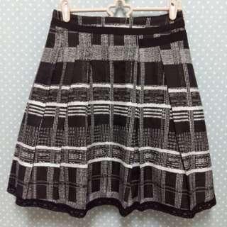 * HA'POPPY-黑白格紋裙 *