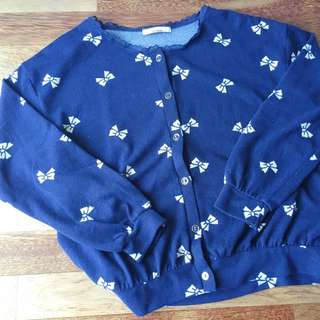 Blue Cardigan from Japan