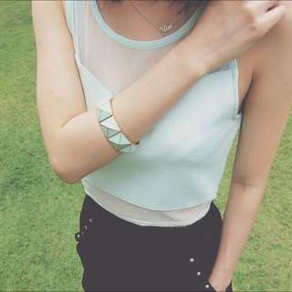 H&M Mint Top