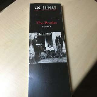 """THE BEATLES /GET BACK。Capitol 3"""" Compact Disc"""
