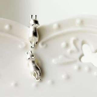925純銀 貓咪耳環🐈