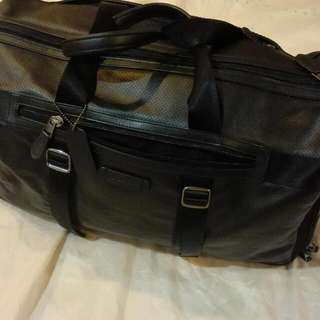 Coach Leather Duffel Bag
