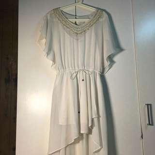 前短後長仙女系洋裝