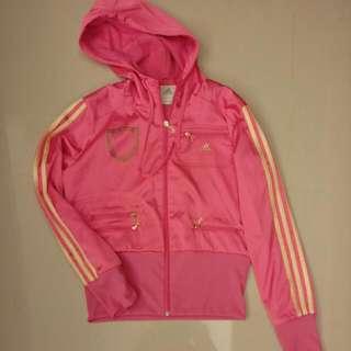 Adidas 運動外套 特別版 粉紅