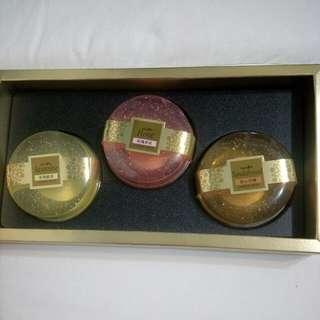 台鹽黃金皂禮盒