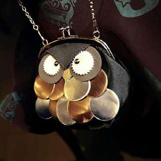 Brand New Owl Purse / Sling Bag