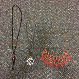 Fashion Necklaces - Set Or Each