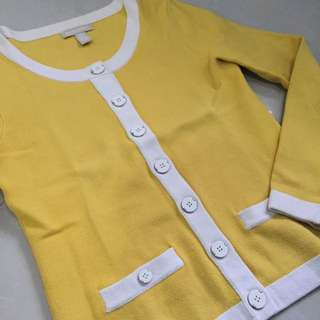 BANANA REPUBLIC YELLOW BANANA SWEATER