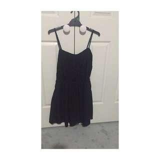 size 10 valleygirl black lace dress