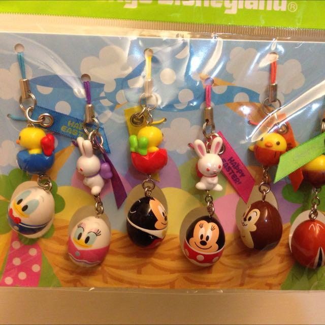 降價囉!!🌰2012日本東京迪士尼樂園復活節蛋型吊飾分售🌰