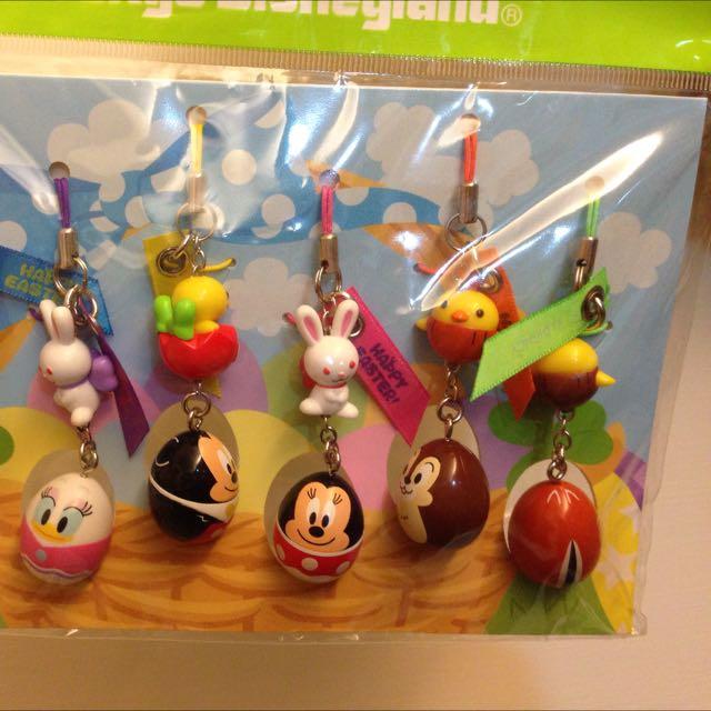 降價囉!!🌰2012日本東京迪士尼樂園復活節蛋型吊飾🌰