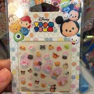 全新 正版 迪士尼 Disney 指甲貼 (富貴浮雲)