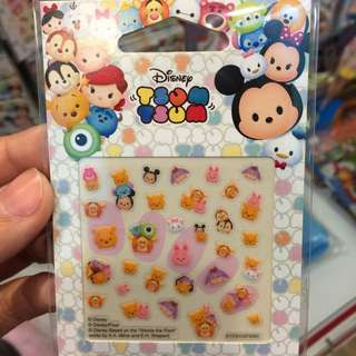 全新 正版 迪士尼 Disney 指甲貼 (維尼)