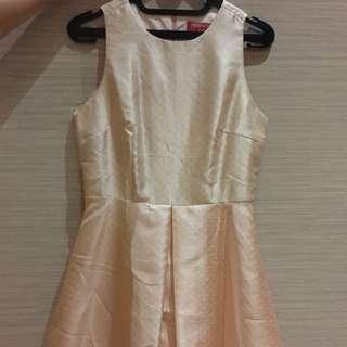 Pastel Pink Polkadot Dress