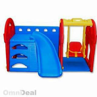 Children Slide & Swing Set