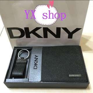 專櫃DKNY防刮皮夾禮盒組
