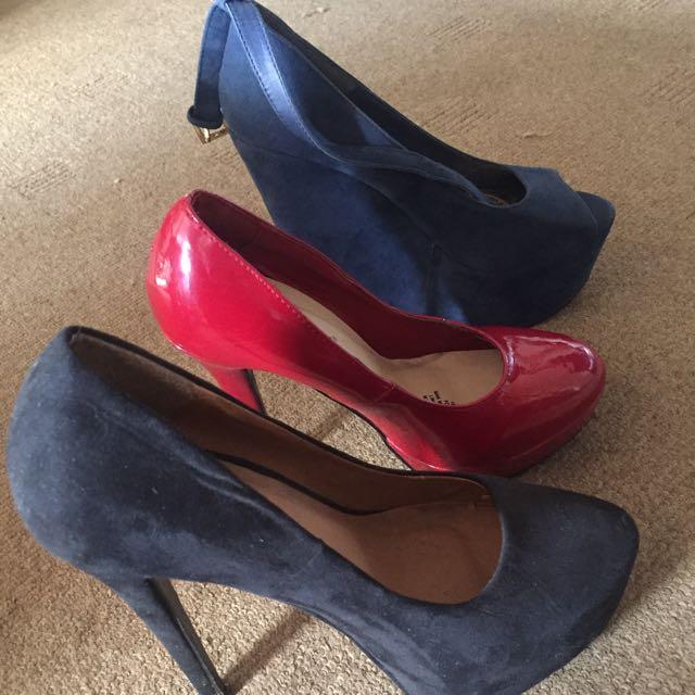 3 Pairs Heels