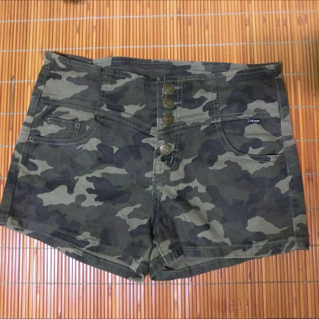 迷彩短褲L