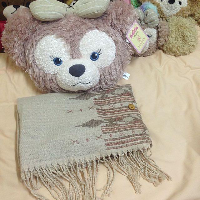 全新免運🔅森林系鄉村風圍巾+披肩