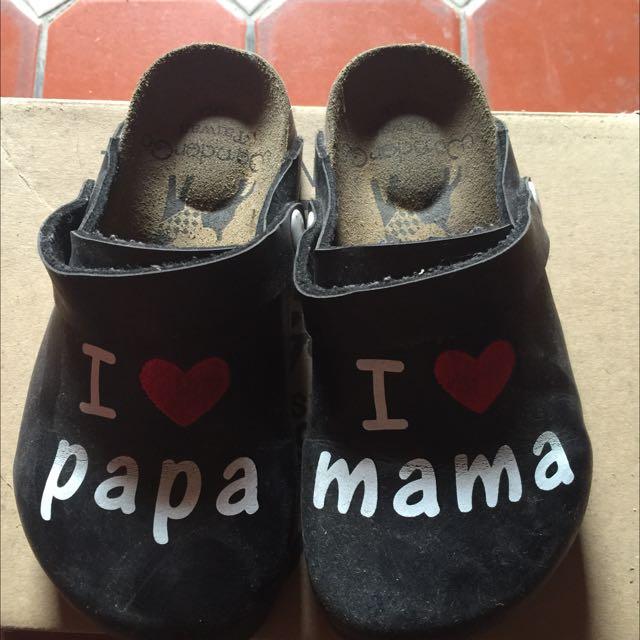 台製我愛爸爸媽媽勃肯鞋