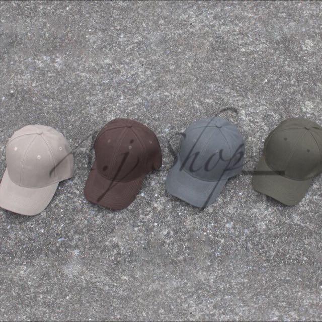 素色復古老帽