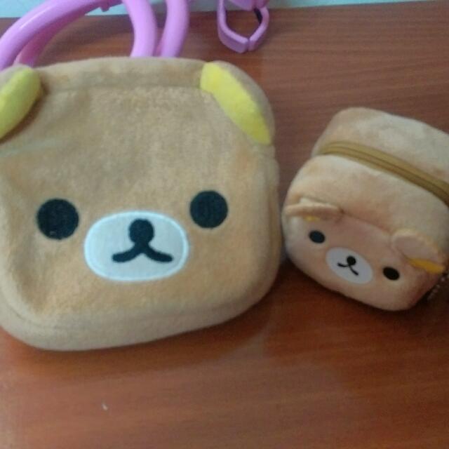 拉拉熊/懶懶熊/輕鬆熊/鬆弛熊/懶熊妹/小白熊 零錢包,收納包