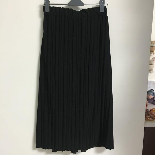 黑色長裙 全新