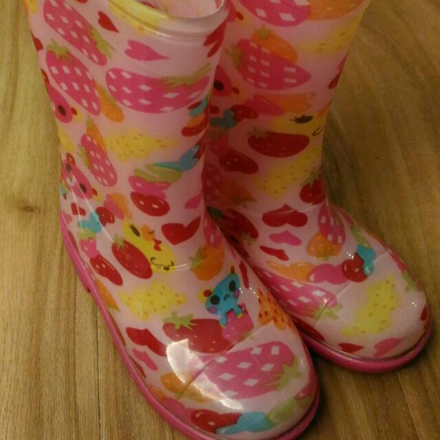 兒童雨鞋(非新品) - 3