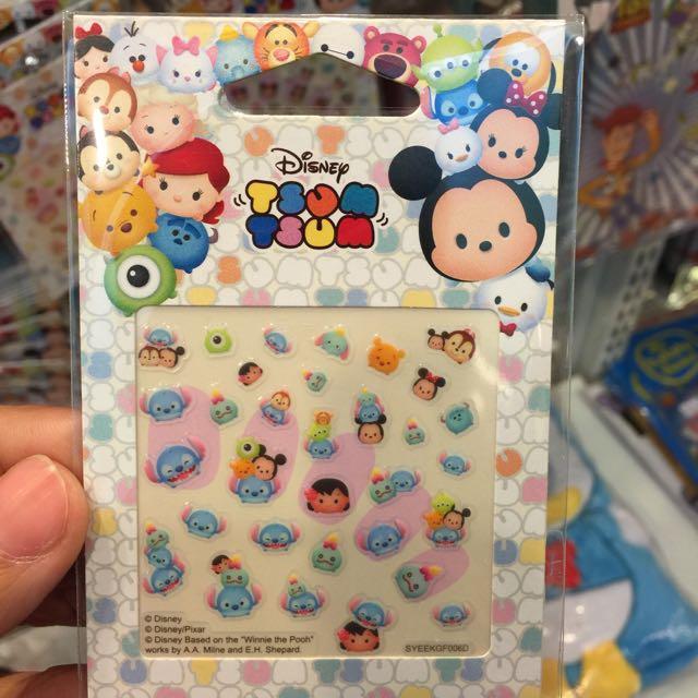全新 正版 迪士尼 Disney 指甲貼 (史迪奇)