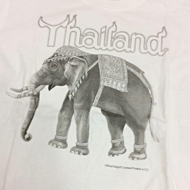 泰國🇹🇭帶回 大象白T