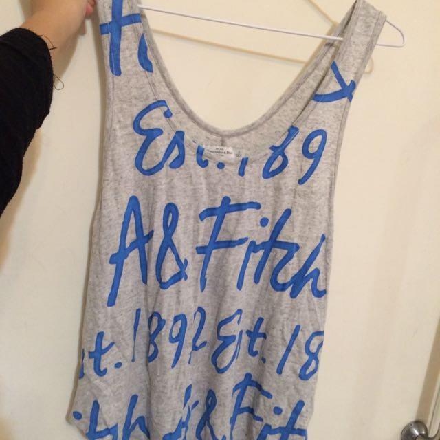 Abercrombie&Fitch tank 背心