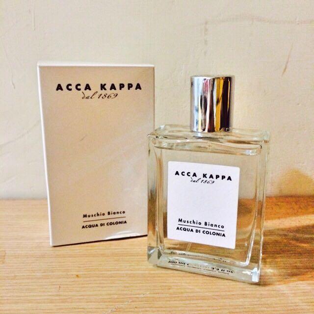 (保留)(含運)ACCA KAPPA 經典白麝香香水 100ML