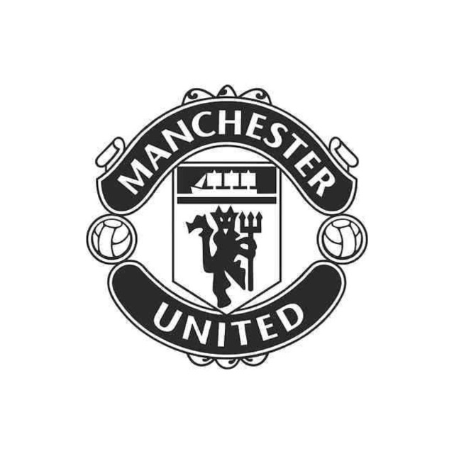 Car Bike Macbook Decal Sticker Manchester United