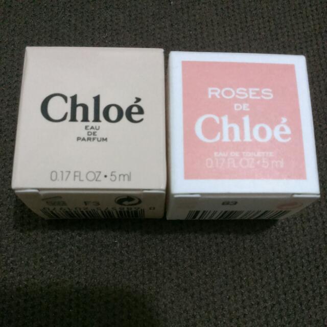 Chloe,5m小香水,一起賣
