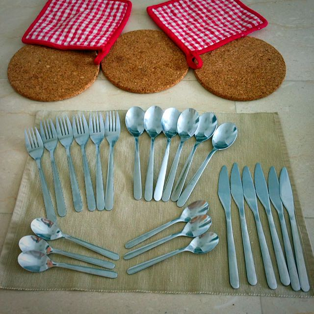 Cutlery, 24 Piece Set, Fornuft IKEA, Expat Moving Sale