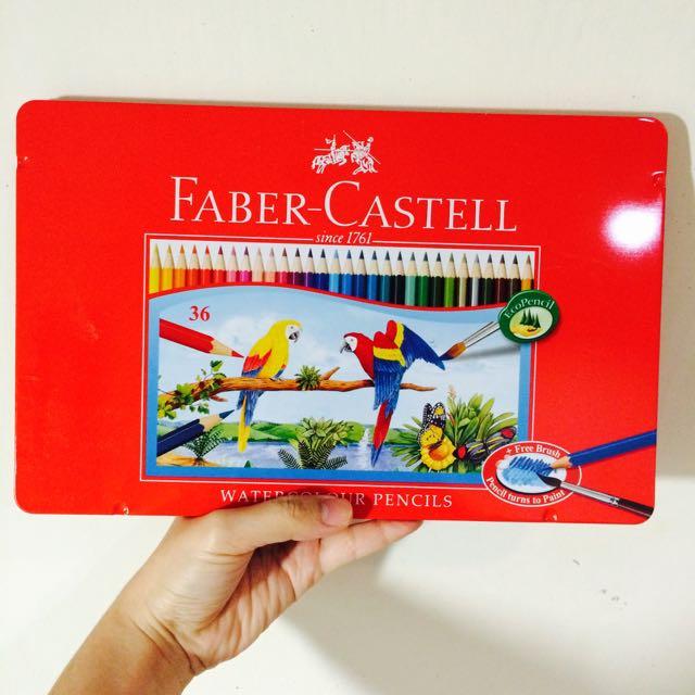 Faber-Castell 36色水彩色鉛筆