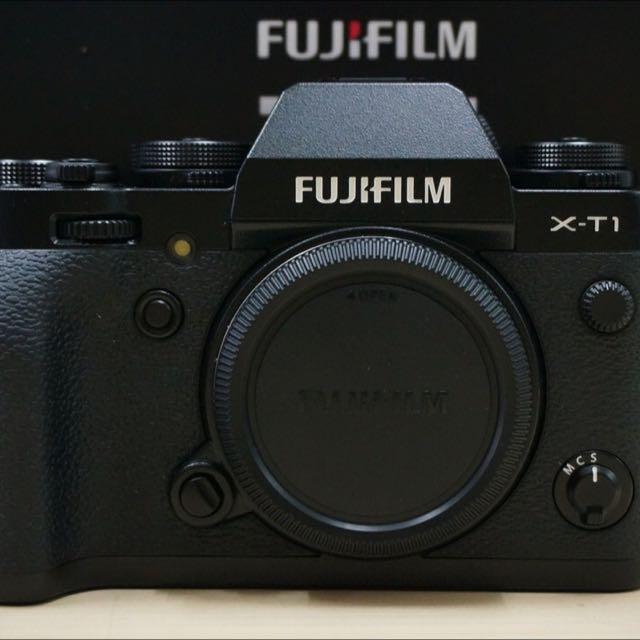 Fuji XT1 body (black) warranty until July 1 2016