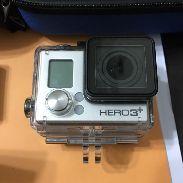 GoPro Hero 3+ Black Edition bundle
