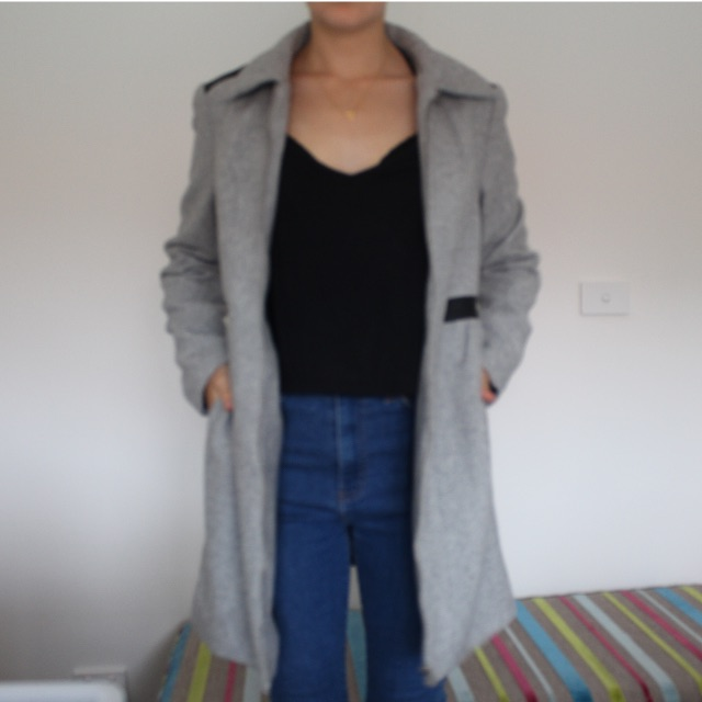 Grey Woollen Coat