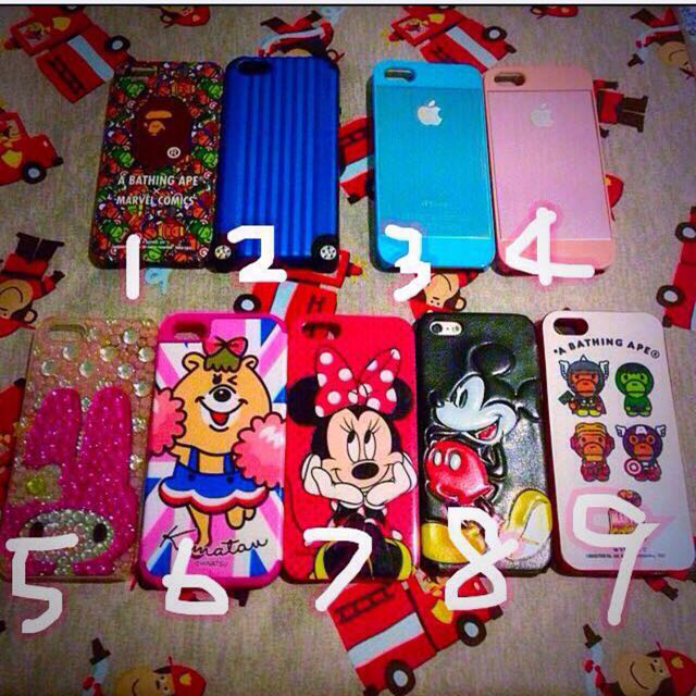 🌺iPhone 5 &5S 手機殼