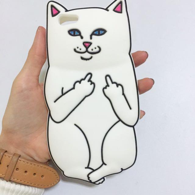 中指貓iphone 6手機殼✔️保留