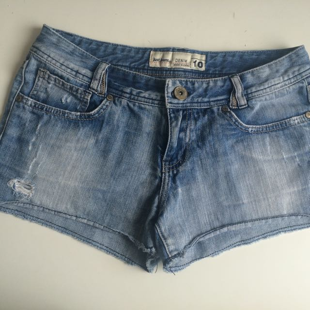 Just Jeans Denim Shorts - Size 10
