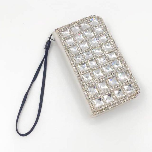['ml]現貨特價iphone4立體方鑽手機皮套/手機殼/手工製