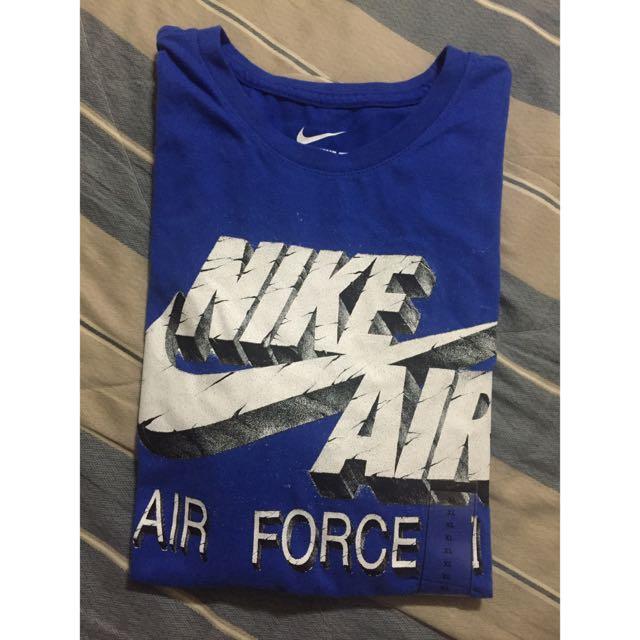 Nike 寶藍 短T