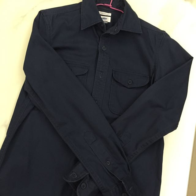 Old Navy 長厚襯衫