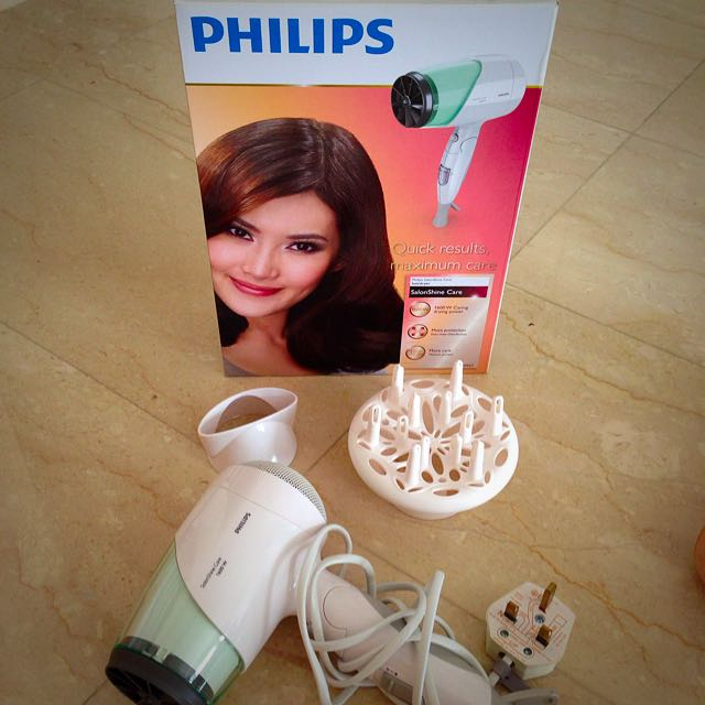 Philips SalonShine Care Hair Dryer, Expat Moving Sale