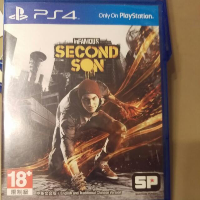 PS4 Second Son 二手