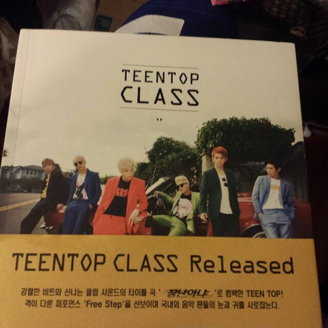 Teen Top Class Album
