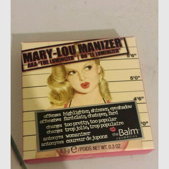 TheBalm Mary Lou Highlighter